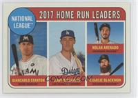 League Leaders - Charlie Blackmon, Nolan Arenado, Cody Bellinger
