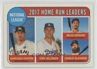 League Leaders - Charlie Blackmon, Nolan Arenado, Cody Bellinger [Noted]