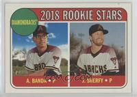 Rookie Stars - Anthony Banda, Jimmie Sherfy
