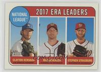League Leaders - Max Scherzer, Stephen Strasburg, Clayton Kershaw