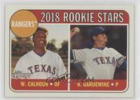 Rookie Stars - Nick Gardewine, Willie Calhoun