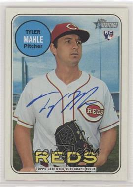 2018 Topps Heritage - Real One Autographs #ROA-TMA - Tyler Mahle