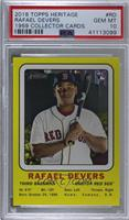 Rafael Devers [PSA 10 GEM MT]