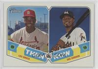 Dee Gordon, Lou Brock