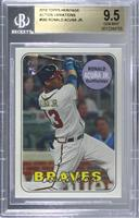 Ronald Acuna (Action Image Variation) [BGS9.5GEMMINT]