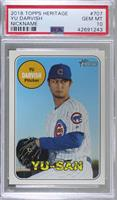 Short Print - Yu Darvish (Nickname Variation) [PSA 10 GEM MT]
