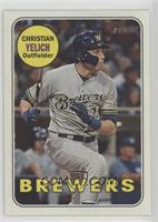 Short Print - Christian Yelich (Action Image Variation)