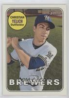 Short Print - Christian Yelich (Color Swap Variation)