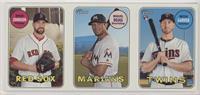 Max Stars with Arm, Legs (Brian Johnson, Miguel Rojas, Mitch Garver)