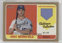 Whit Merrifield #/99