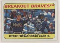 Freddie Freeman, Ronald Acuna