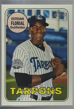 2018 Topps Heritage Minor League Edition - [Base] - Glossy #94 - Estevan Florial
