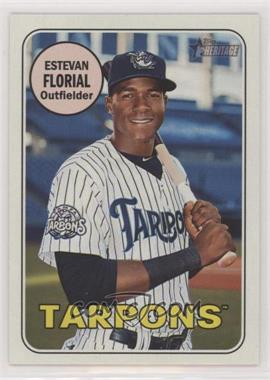 2018 Topps Heritage Minor League Edition - [Base] #94.1 - Estevan Florial