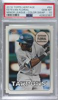 Estevan Florial (Circle Color Variation) [PSA 10 GEM MT]