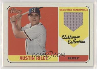 2018 Topps Heritage Minor League Edition - Clubhouse Collection Relics #CCR-AR - Austin Riley