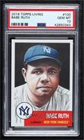 Babe Ruth [PSA10GEMMT] #/14,976