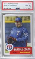Bartolo Colon [PSA 10 GEM MT] #/5,630