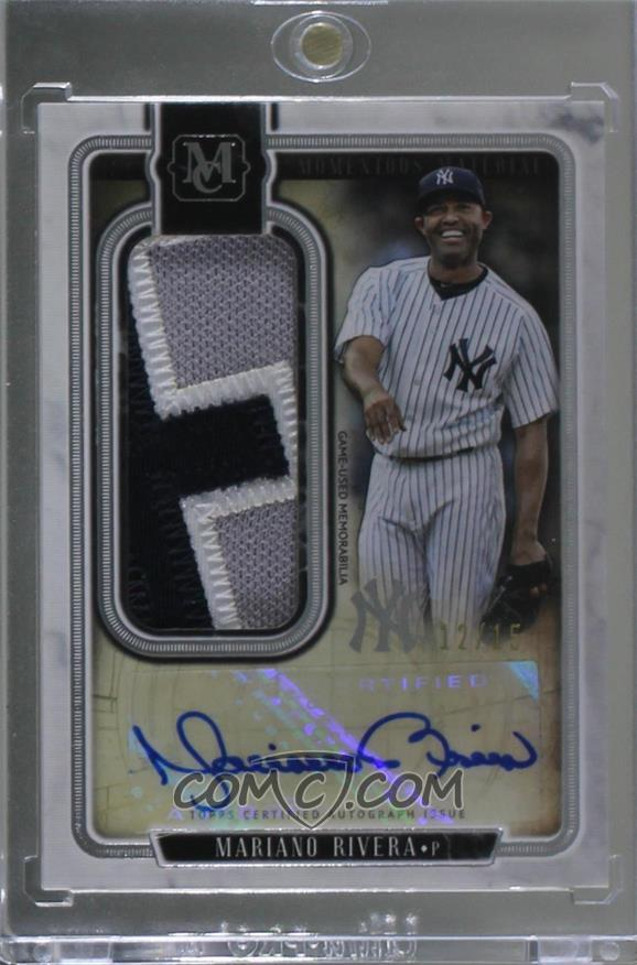 2018 Topps Museum Collection Momentous Material Jumbo