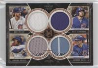 Kris Bryant, Kyle Schwarber, Addison Russell, Anthony Rizzo #/75