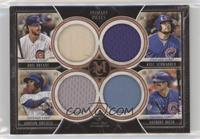 Kris Bryant, Kyle Schwarber, Addison Russell, Anthony Rizzo /75