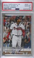 Ronald Acuna Jr. [PSA 10 GEM MT] #/2,517