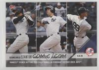 Giancarlo Stanton, Gary Sanchez, Aaron Judge /1967