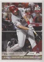 Mike Trout #/969