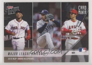 2018 Topps Now - Card of the Month #M-NOV - 2018 MLB Award Recipients /1001