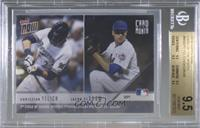 Christian Yelich, Jacob deGrom [BGS 9.5 GEM MINT] #/1,002