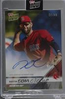 Dustin Pedroia [Uncirculated] #/49