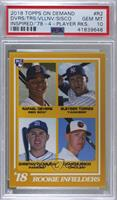 Rafael Devers, Gleyber Torres, Christian Villanueva, Chance Sisco [PSA 10&…