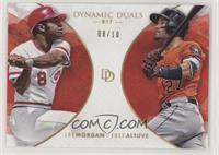 Joe Morgan, Jose Altuve #/10