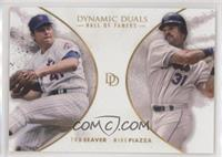 Hall of Famers - Tom Seaver, Mike Piazza /700