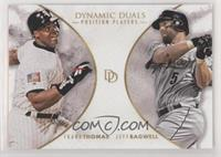 Position Players - Frank Thomas, Jeff Bagwell #/700