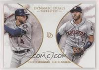 Youngsters - George Springer, Carlos Correa /700