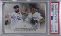Clayton Kershaw, Walker Buehler [PSA 10 GEM MT]