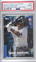 Miguel Andujar (Batting) [PSA 9 MINT] #/1,700