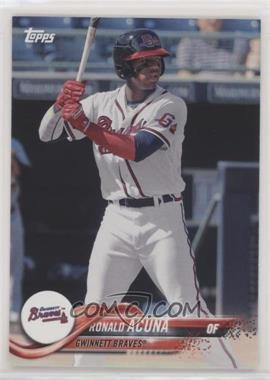 2018 Topps Pro Debut - [Base] #1.1 - Ronald Acuna (Base)