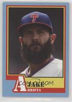 1983 Topps A-Team Design - Jake Arrieta /872