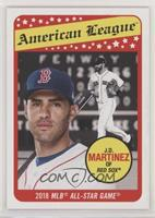 1969 Topps All-Star Design - J.D. Martinez #/1,198