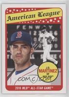 1969 Topps All-Star Design - J.D. Martinez #/1,198
