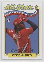 1989 Topps All-Star Game Design (Incorrectly Noted as 1969) - Ozzie Albies /793