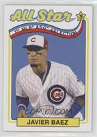 1989 Topps All-Star Game Design (Incorrectly Noted as 1969) - Javier Baez /793