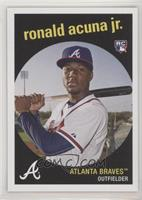 1959 Topps Design - Ronald Acuna /1588