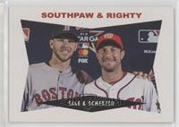 1960 Fork & Knuckler Design - Chris Sale, Max Scherzer /1029
