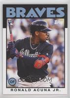 1986 Topps Design - Ronald Acuna Jr. /1371