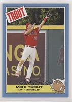 1985 Topps Rocky IV Design - Mike Trout #/605