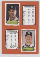 1969 Stamp Booklet Design - Giancarlo Stanton, Aaron Judge /581
