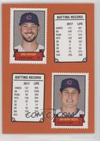 1969 Stamp Booklet Design - Kris Bryant, Anthony Rizzo #/581