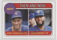 1969 Topps Rookie Stars Design - Darryl Strawberry, Amed Rosario /1894